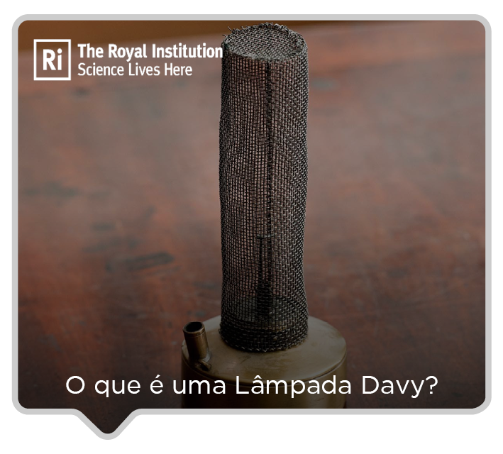 Q&A COM ROYAL INSTITUTION: O QUE É UMA DAVY LAMP?
